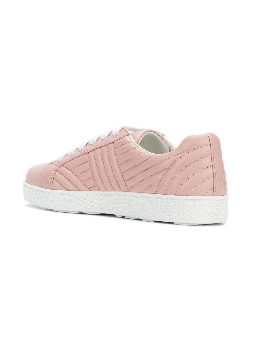 lace-up sneakers - Pink & Purple Prada ZPqC8tJ