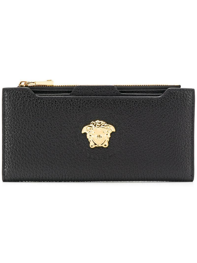 491a1b86ac Lyst - Versace Medusa Wallet in Black for Men
