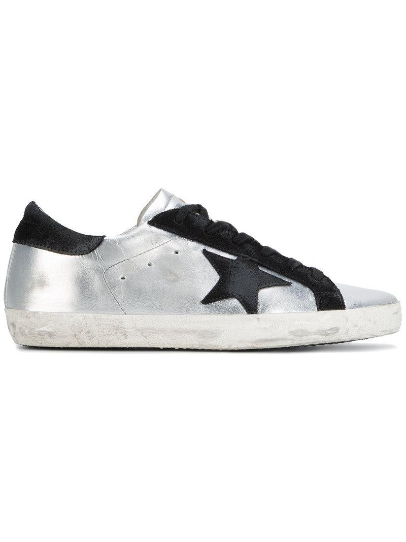 3a302b5e06b Lyst - Golden Goose Deluxe Brand Superstar Metallic (grey) Sneakers ...