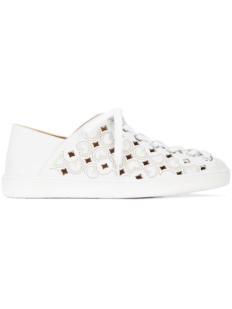 Dael Laser Cut Sneaker - Black Derek Lam gpZqJ