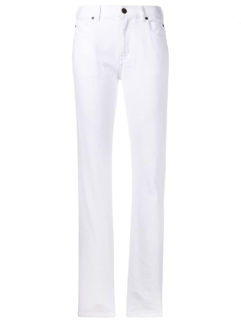 95f9d0a7d Lyst - CALVIN KLEIN 205W39NYC Straight Leg Jeans in White