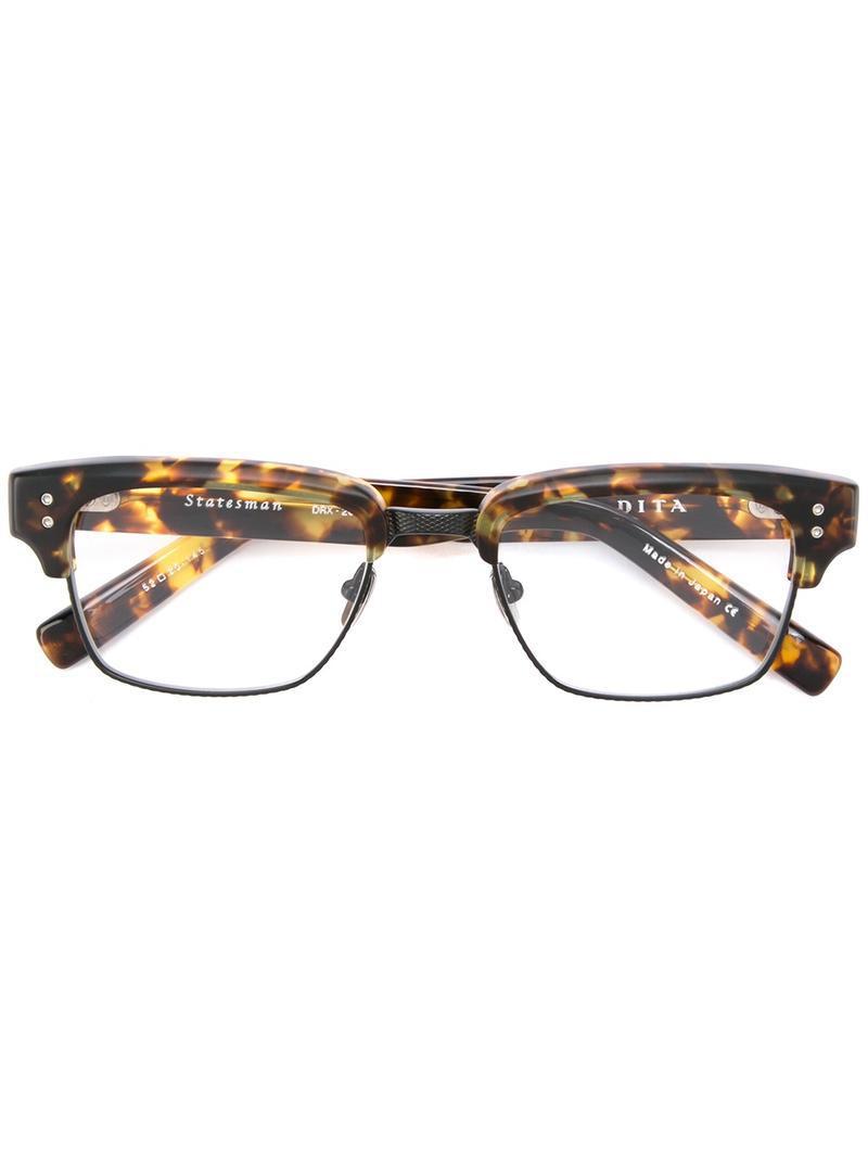 3f335c50b5e9 Dita Eyewear  statesman  Glasses in Brown for Men - Lyst