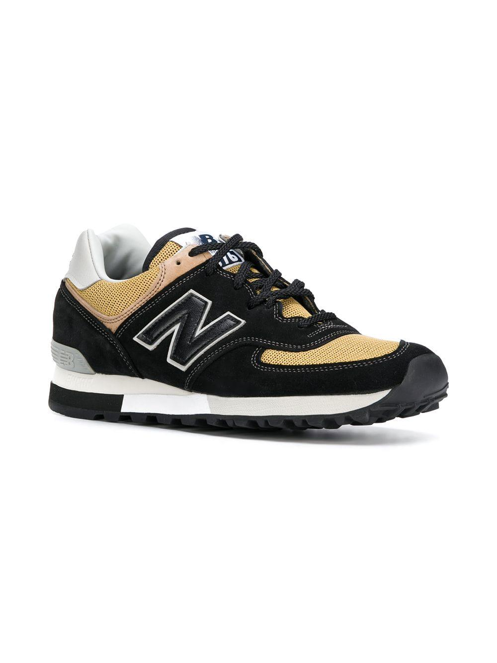 detailed look 57eb5 d25bf Lyst - Baskets 576 New Balance pour homme en coloris Noir