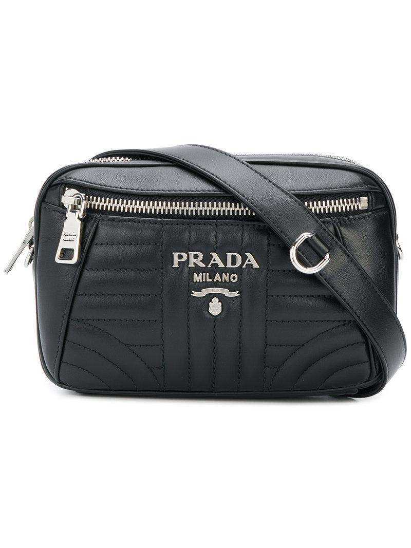 bevelled belt bag - Black Prada X2yOt