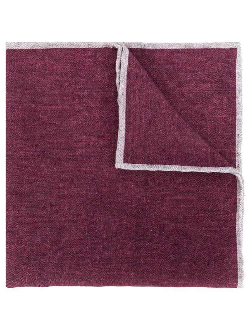 two tone handkerchief - Grey Eleventy 4sIxmKj