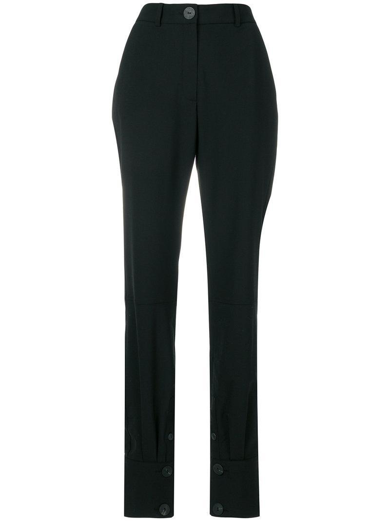 button cuff trousers - Black J.W.Anderson vLwE68q