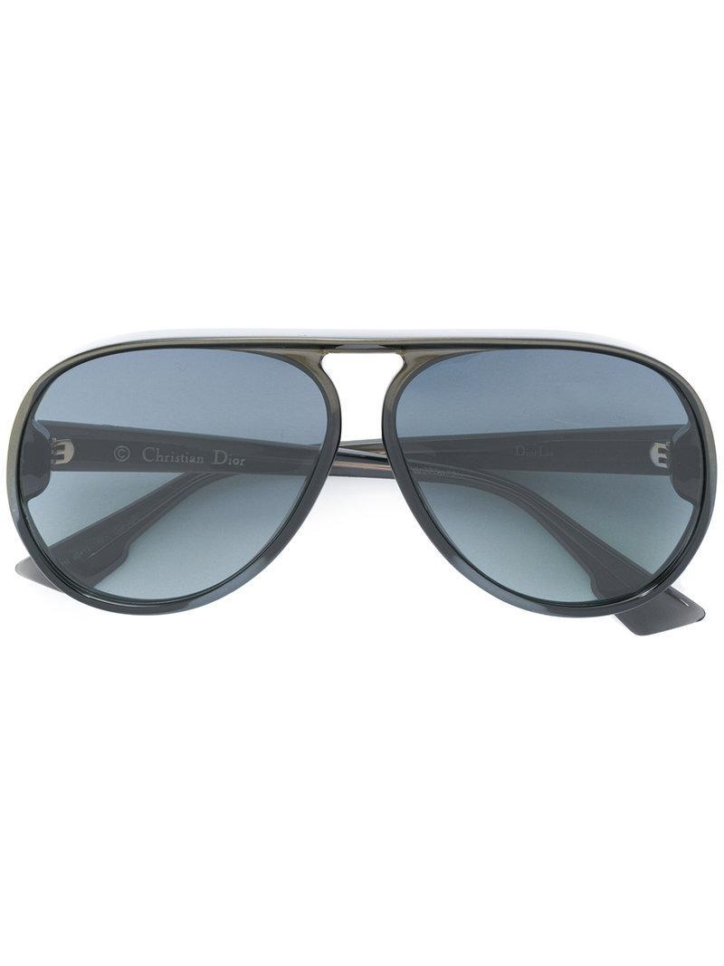 Lyst - Lunettes de soleil Diorlia Dior en coloris Noir 3dbfd7e31a80