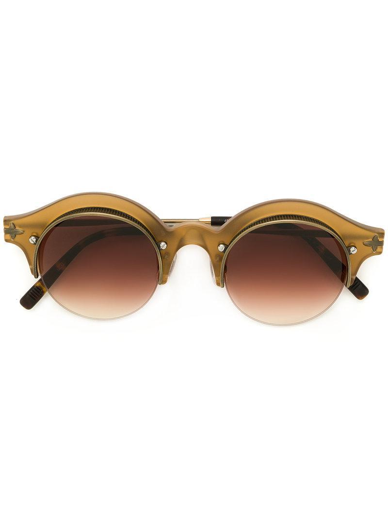 031f632fb1 Matsuda - Brown Gafas de sol redondas - Lyst. Ver en pantalla completa