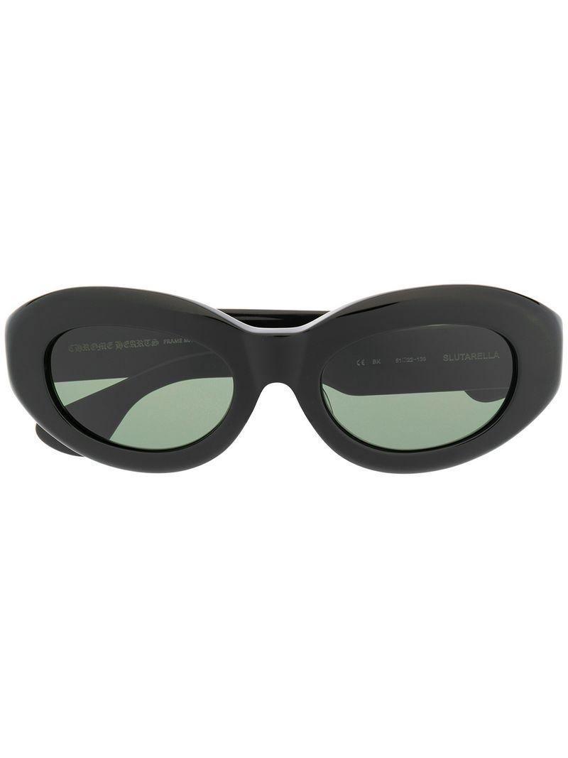 1b037358e49 Chrome Hearts Cat Eye Sunglasses in Black - Lyst