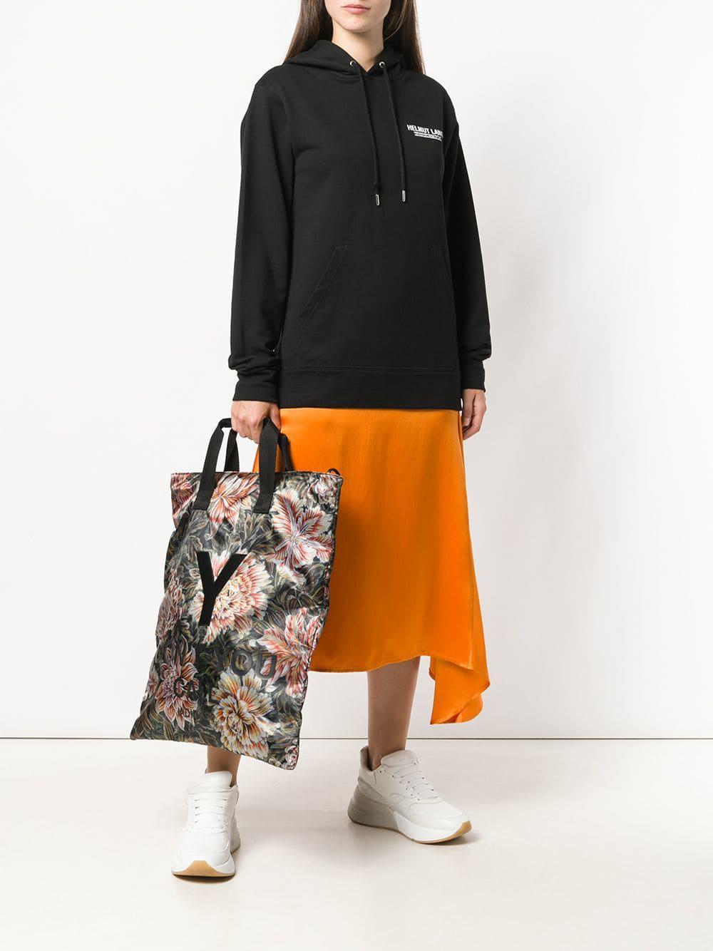 Lyst - Y-3 Rectangular Tote Bag in Black 7e9d5f7921
