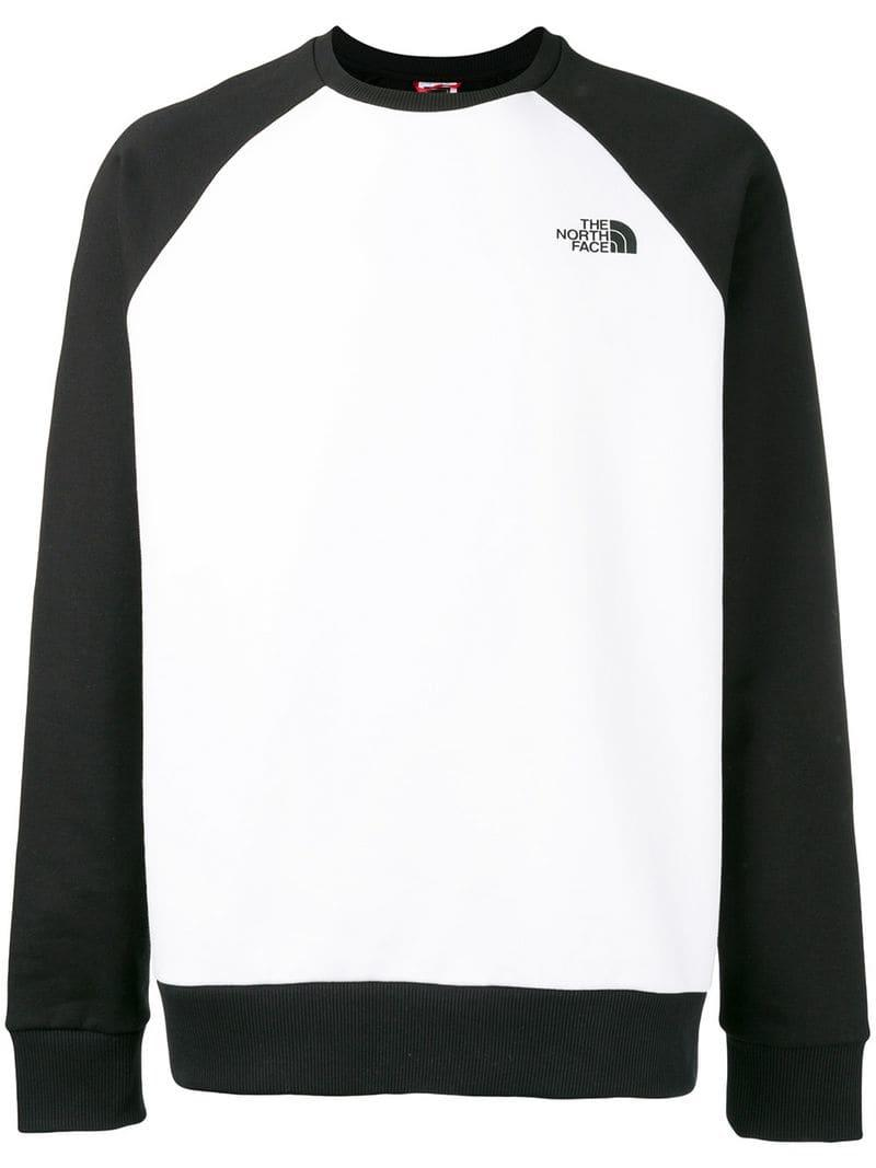 2ab0aca65 The North Face Two-tone Sweatshirt in Black for Men - Lyst