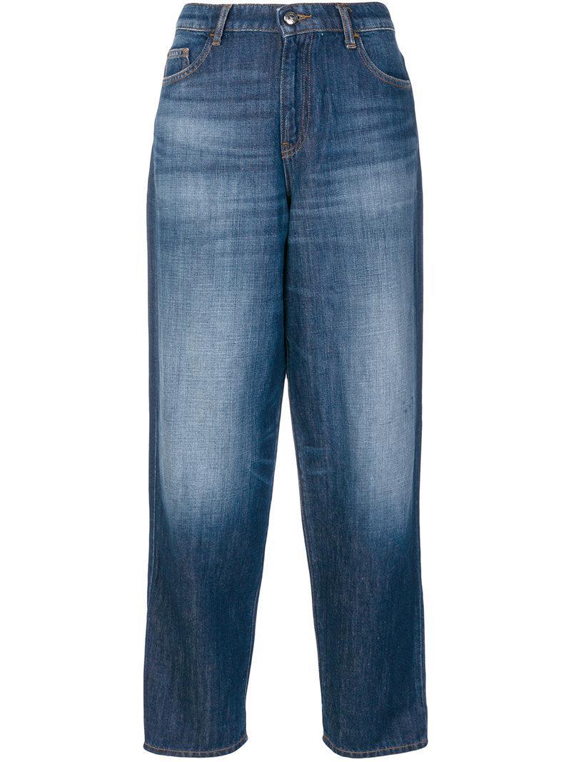 J90 straight jeans - Blue Emporio Armani bpeyjopG