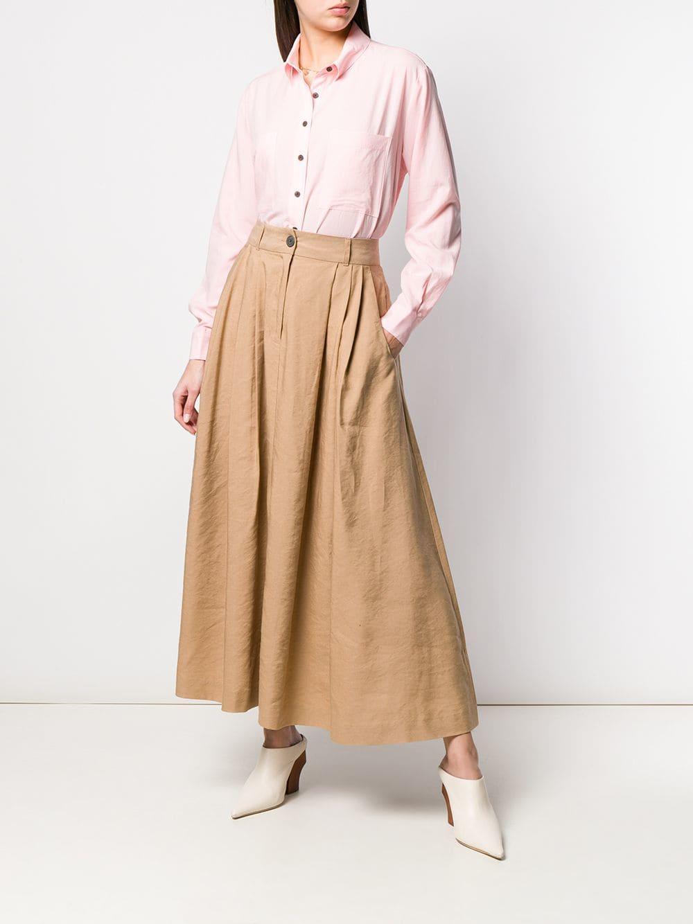 022980c4844 Lyst - Mara Hoffman Tulay Skirt in Brown - Save 37%