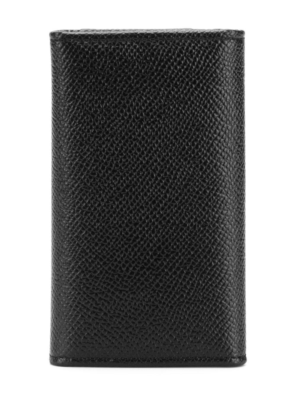 626b7978a5 Lyst - Dolce & Gabbana Foldable Keyring Wallet in Black for Men