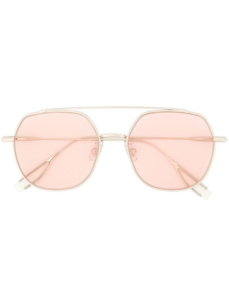 02a20d68cef Gentle Monster Boogie Sunglasses in Metallic - Lyst