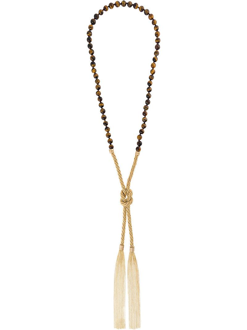 Rosantica Allodola necklace - Metallic Uyou9t1