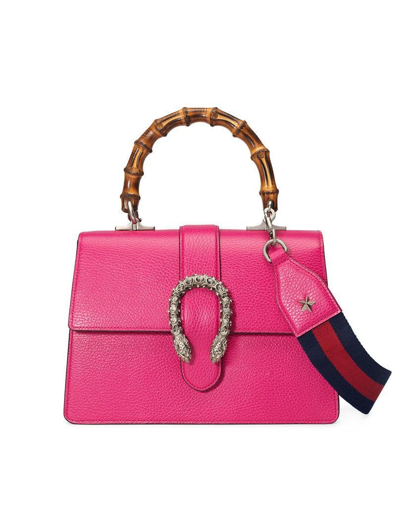 28866e683d6c Gucci Dionysus Medium Top Handle Bag in Pink - Save 45% - Lyst