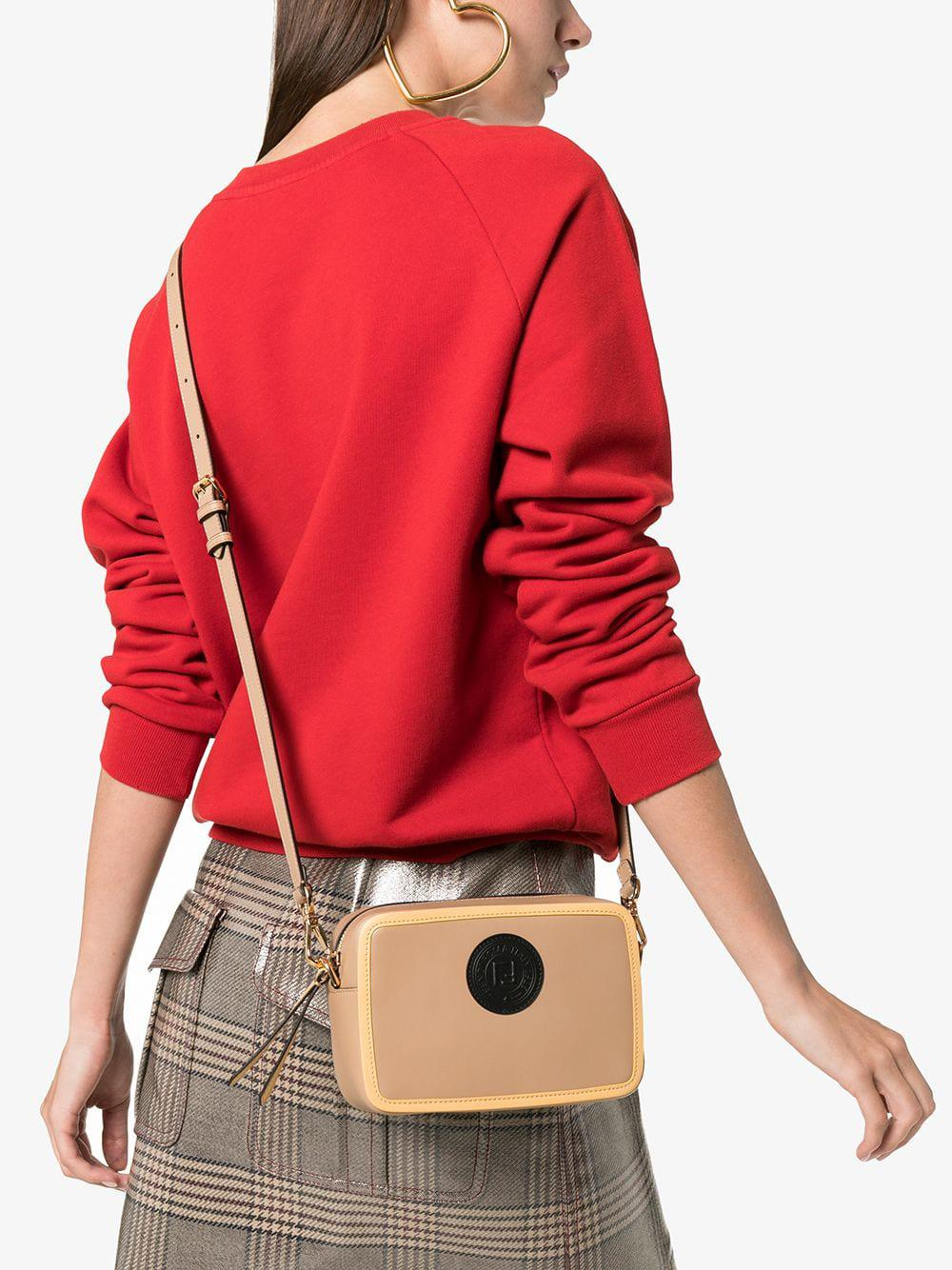 dec908034225 Fendi - Multicolor Nude Mini Camera Leather Cross-body Bag - Lyst. View  fullscreen