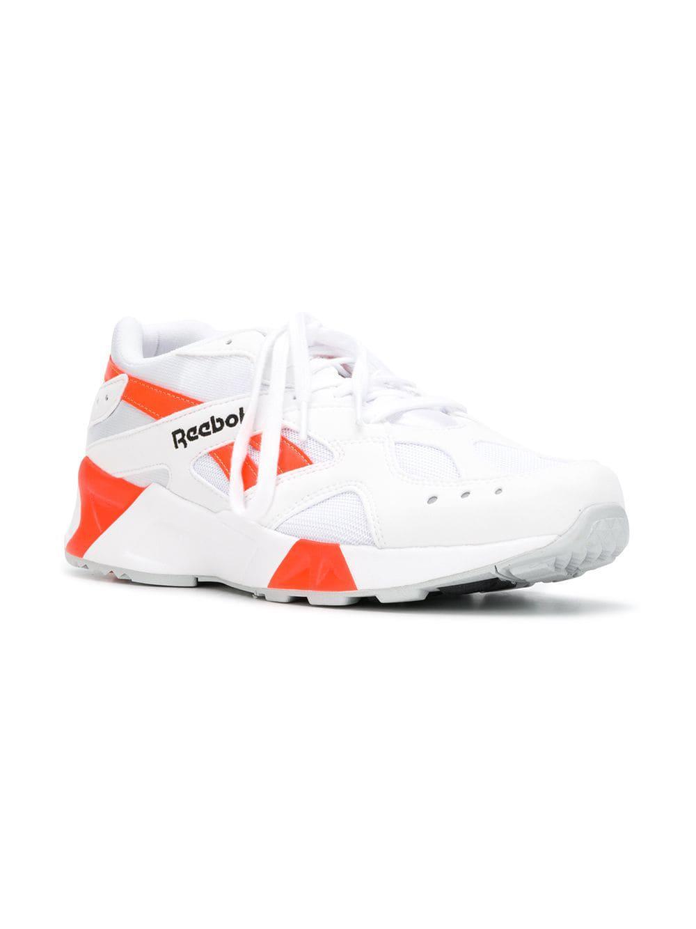 Reebok - White Aztrek Sneakers - Lyst. View fullscreen d18acb349