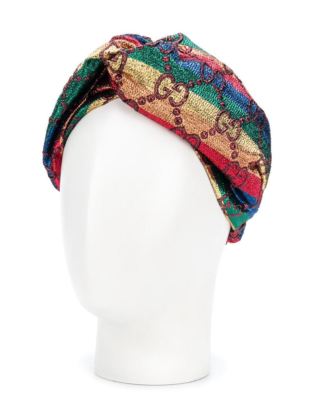 Gucci rainbow GG Supreme handband - Multicolour oBkRwF