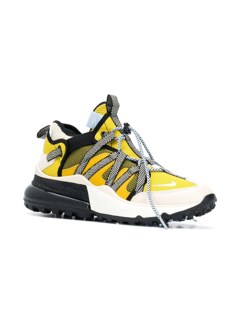 newest ff241 795a5 Nike Air Max 270 Sneakers in Yellow for Men - Lyst