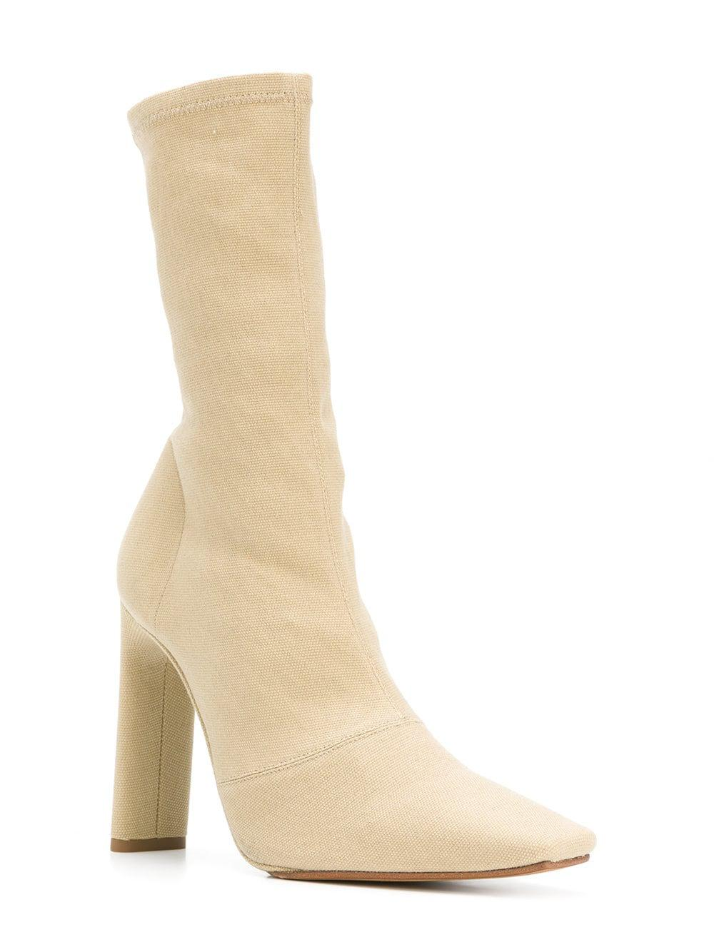 87d76936187 Lyst - Yeezy Season 6 Ankle Boots in Natural - Save 72%