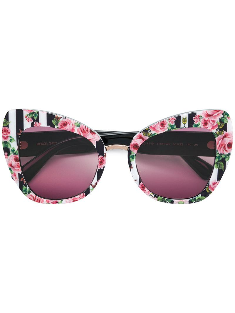 b1cdcf9160f Dolce   Gabbana. Women s Limited Edition Rose Collection Butterfly  Sunglasses