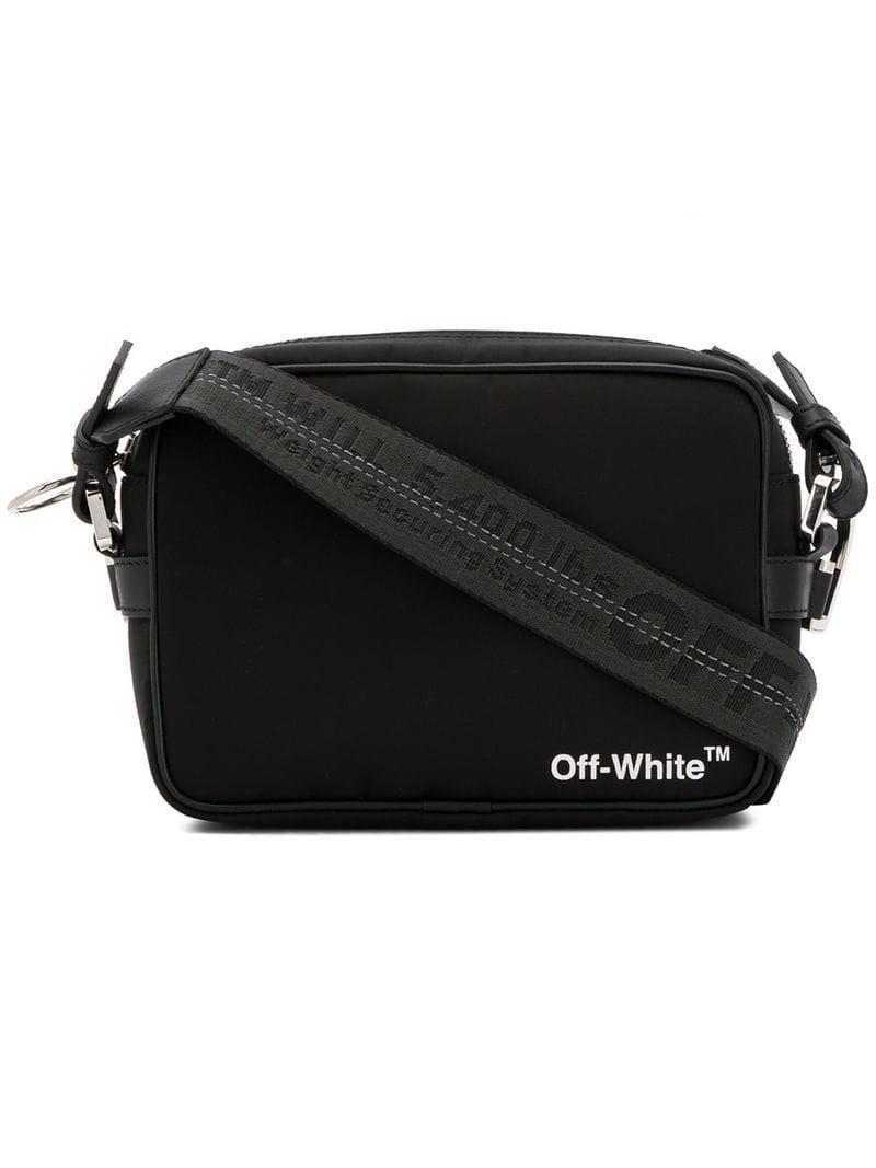 23ecc7678fb Lyst - Off-White c o Virgil Abloh Crossbody Bag in Black for Men ...