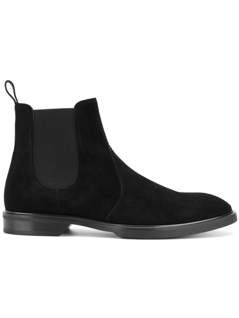 The Best Store To Get Black Leather Chelsea Boots Dolce & Gabbana Official Site Online 0mm9q