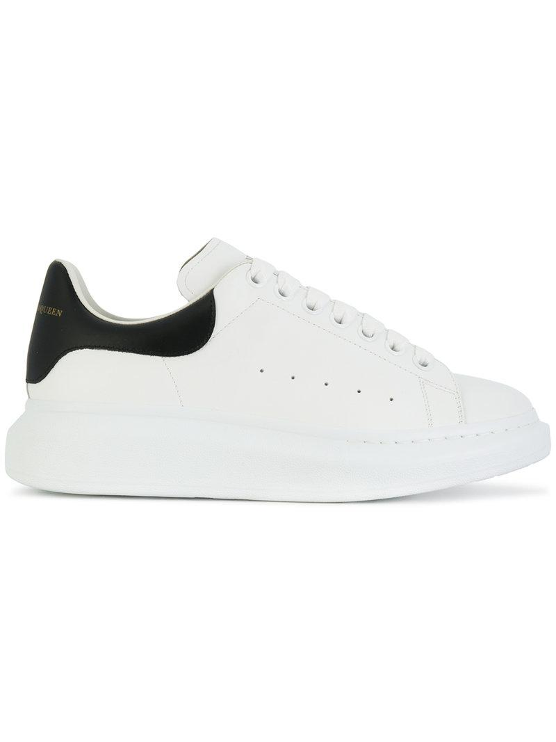 ca7b8988cc77 Alexander McQueen Oversized Sneakers in White for Men - Save 5% - Lyst