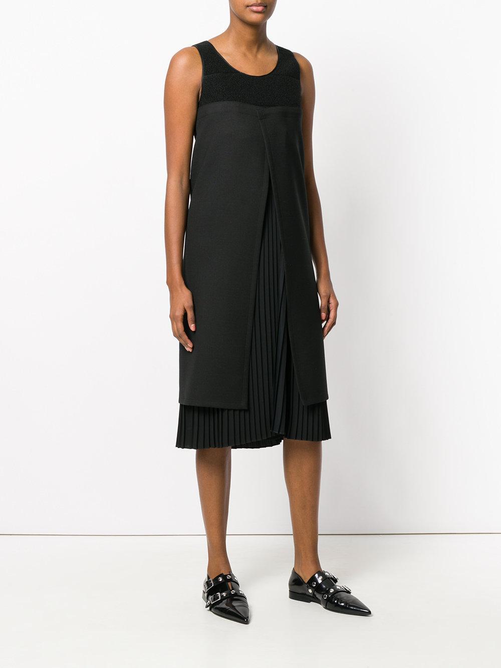 deconstructed pleated dress - Black Maison Martin Margiela AP57Q6