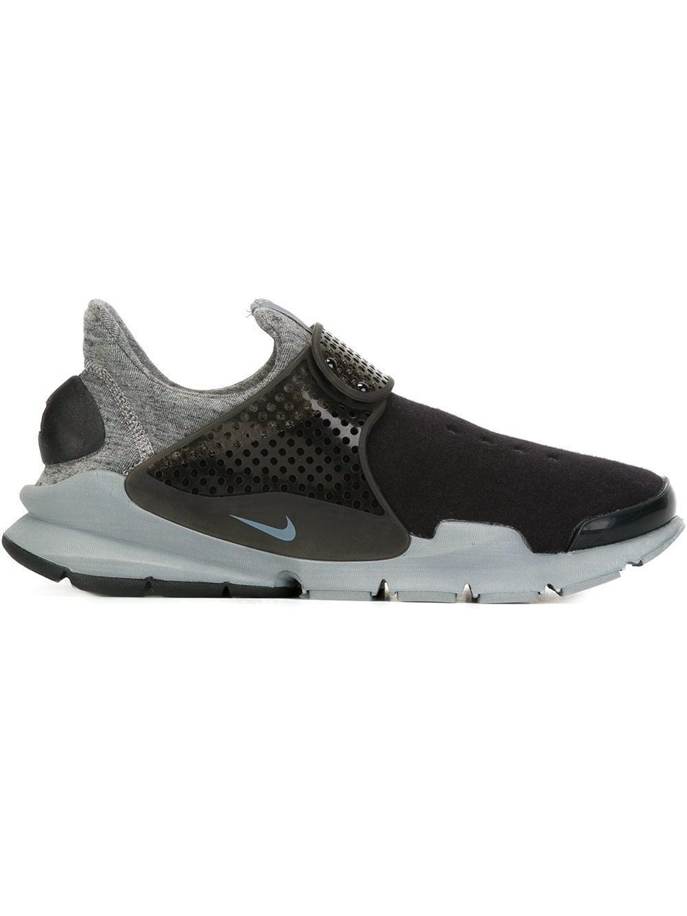 5e739e9ab37c7 Nike Sock Dart Tech Fleece Sneakers in Black for Men - Lyst