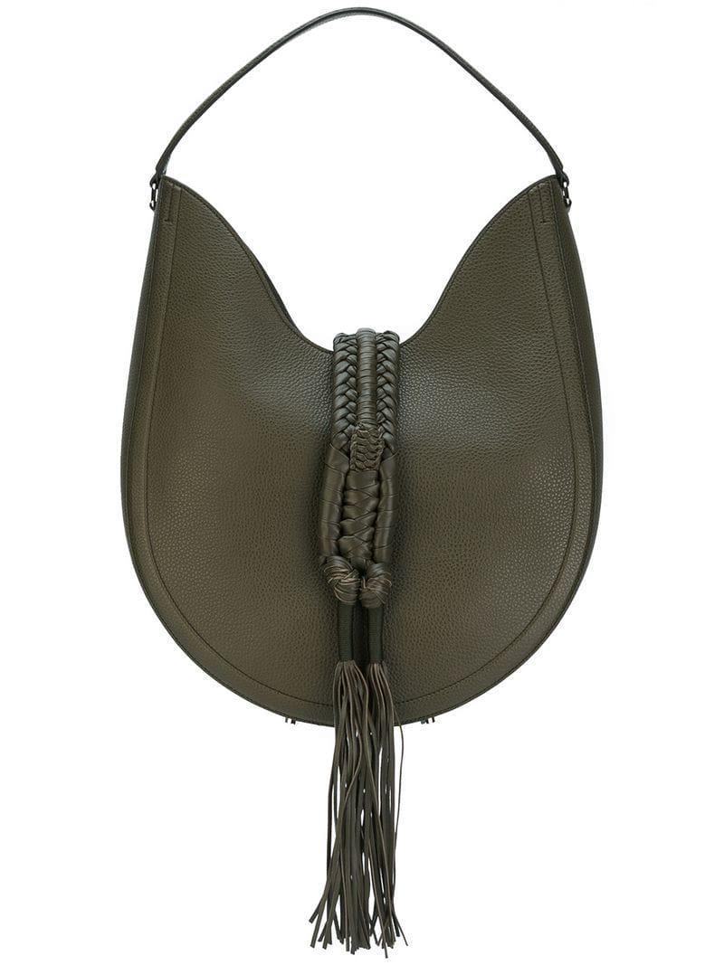 f95cd80686f8 Altuzarra Ghianda Hobo Bag in Green - Lyst