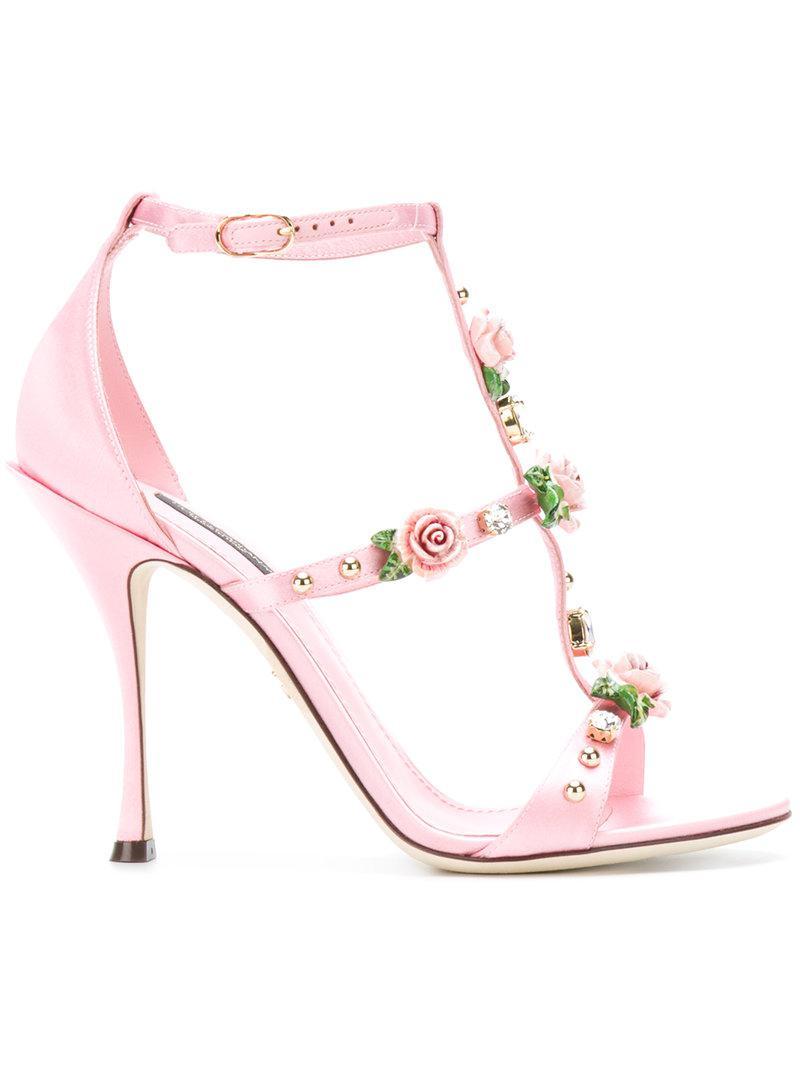 Dolce & Gabbana Rose caged heel sandals tI4Bc