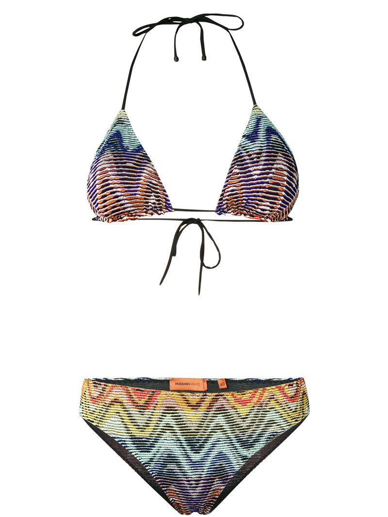 Missoni Bikini triangle Wave