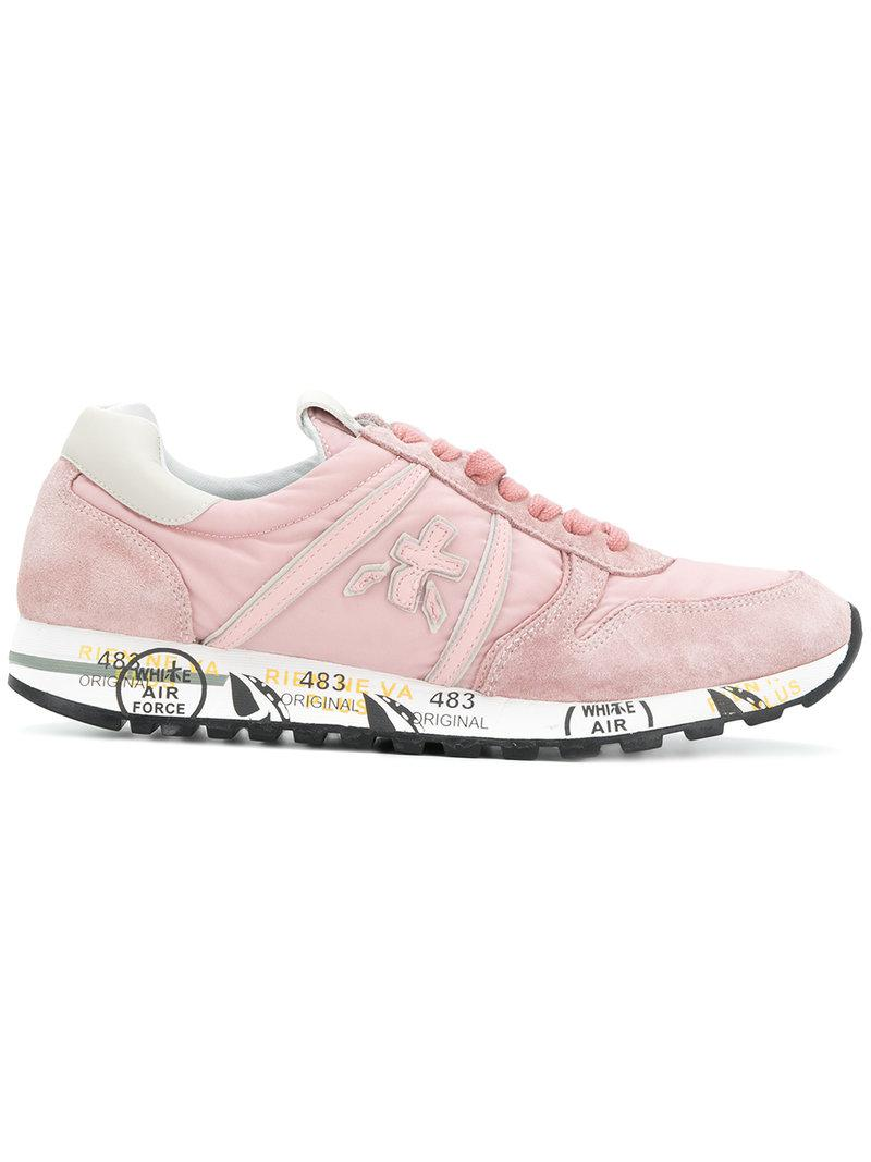 lace-up sneakers - Pink & Purple Premiata eMII9ITm1G