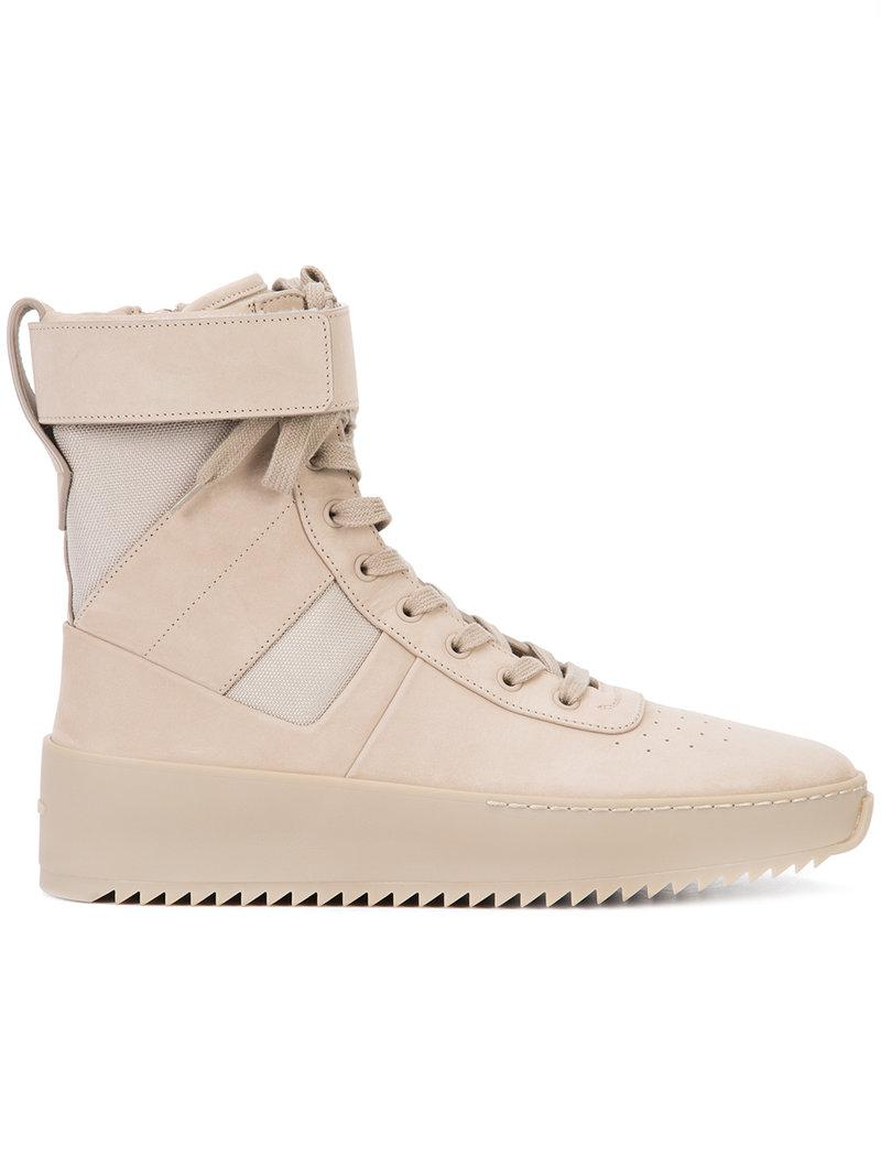 FEAR OF GOD Ankle strap hi