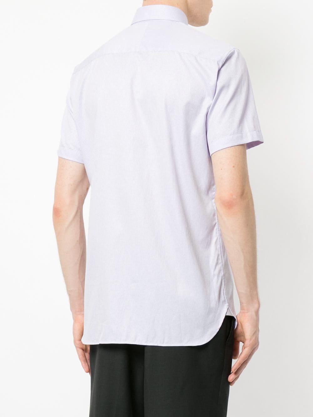 Lyst Pink Hawkes Gieves con para Camisa hombre estampado micro 1qppaw4
