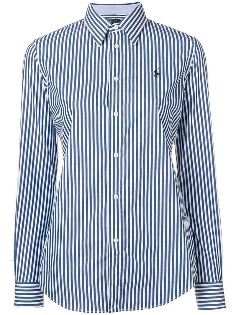 6ad94a52 Lyst - Polo Ralph Lauren Striped Shirt in Blue