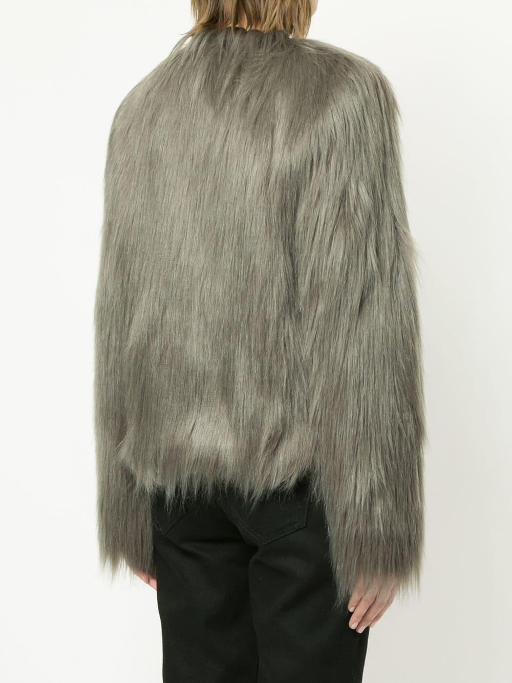 Unreal Dream In Lyst Jacket Fur Green CBrxWdoeEQ