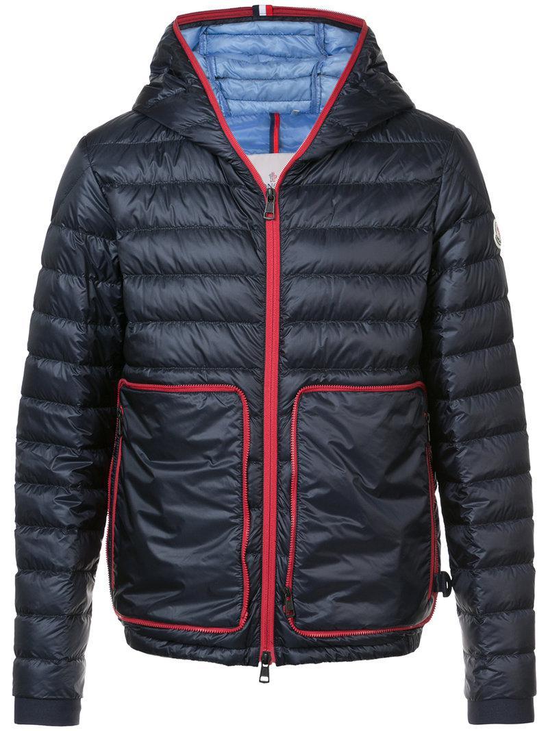 Moncler. Men's Blue Ardechois Jacket