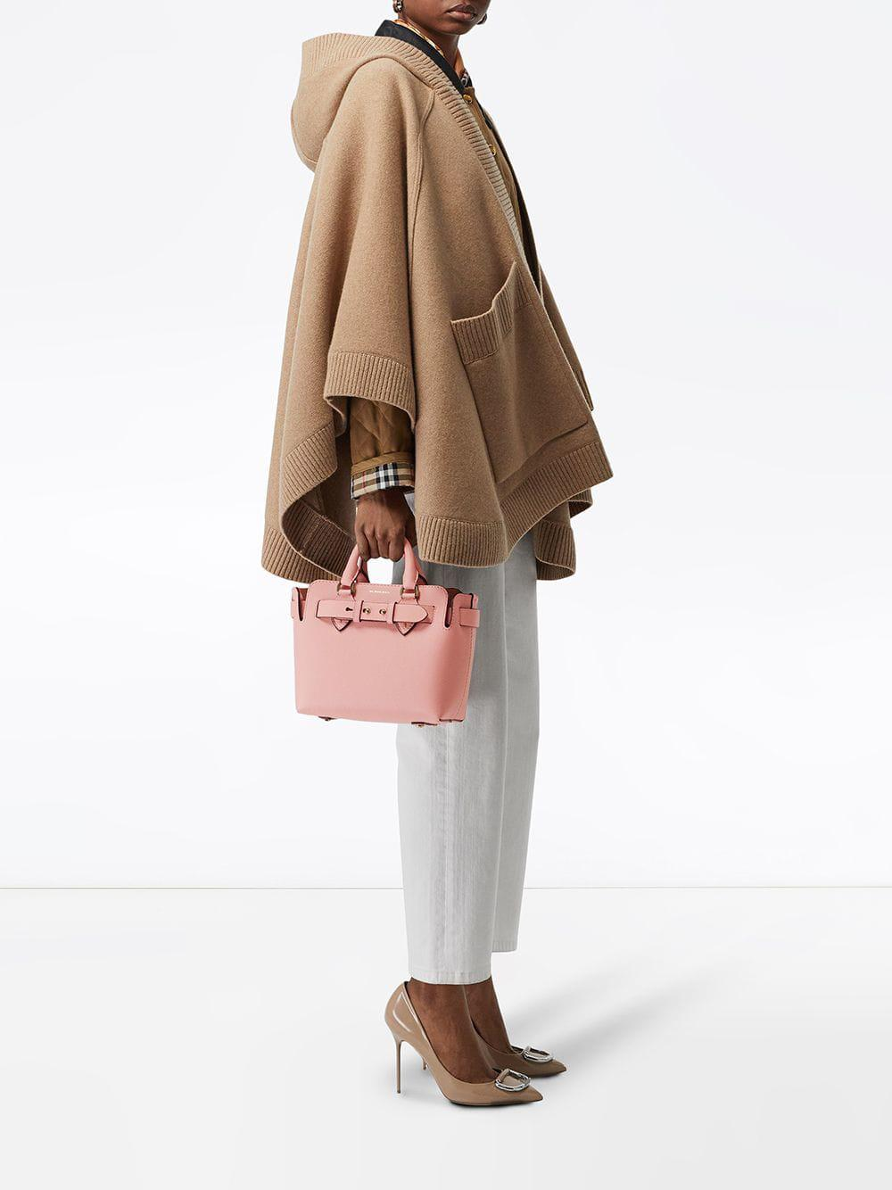ae6a39a7dfdc Burberry - Pink The Small Leather Belt Bag - Lyst. View fullscreen