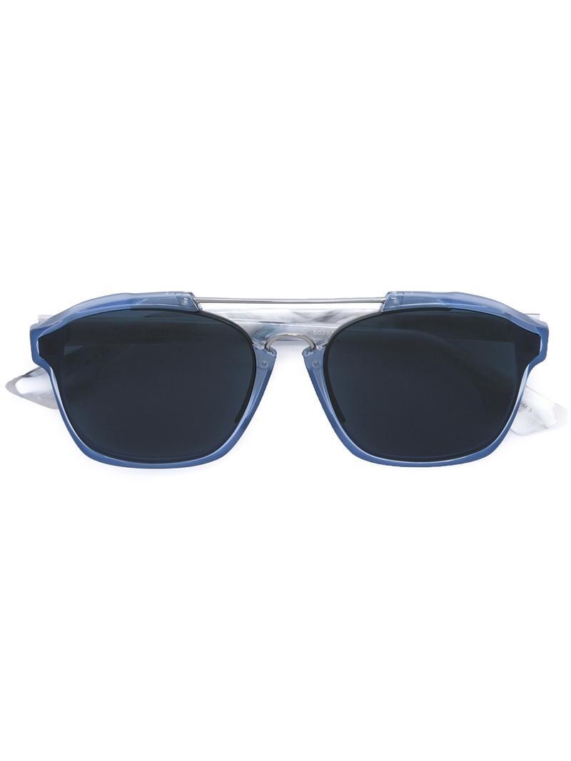 e4c44d2c9e Lyst - Dior  abstract  Sunglasses in Blue