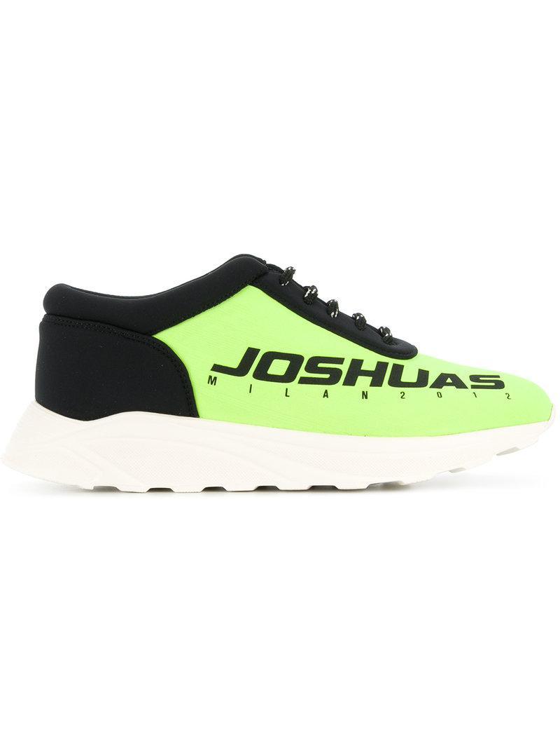 Joshua SandersLOGO - High-top trainers - black REHAizHD