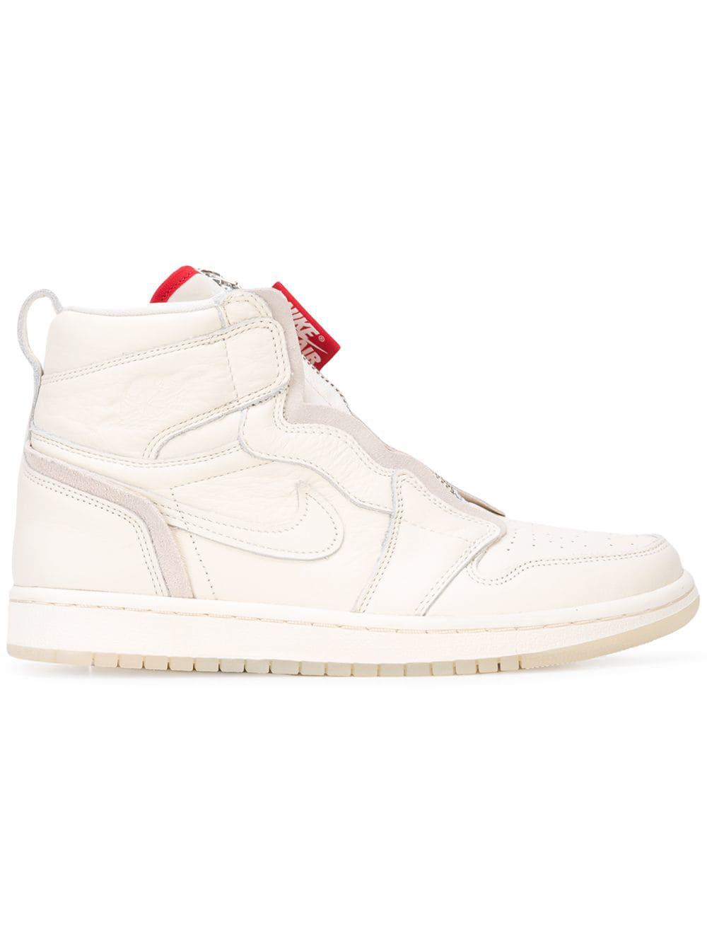 0f057a7746249 Lyst - Nike Anna Wintour X Air 1 High Zip Awok Sneakers in White