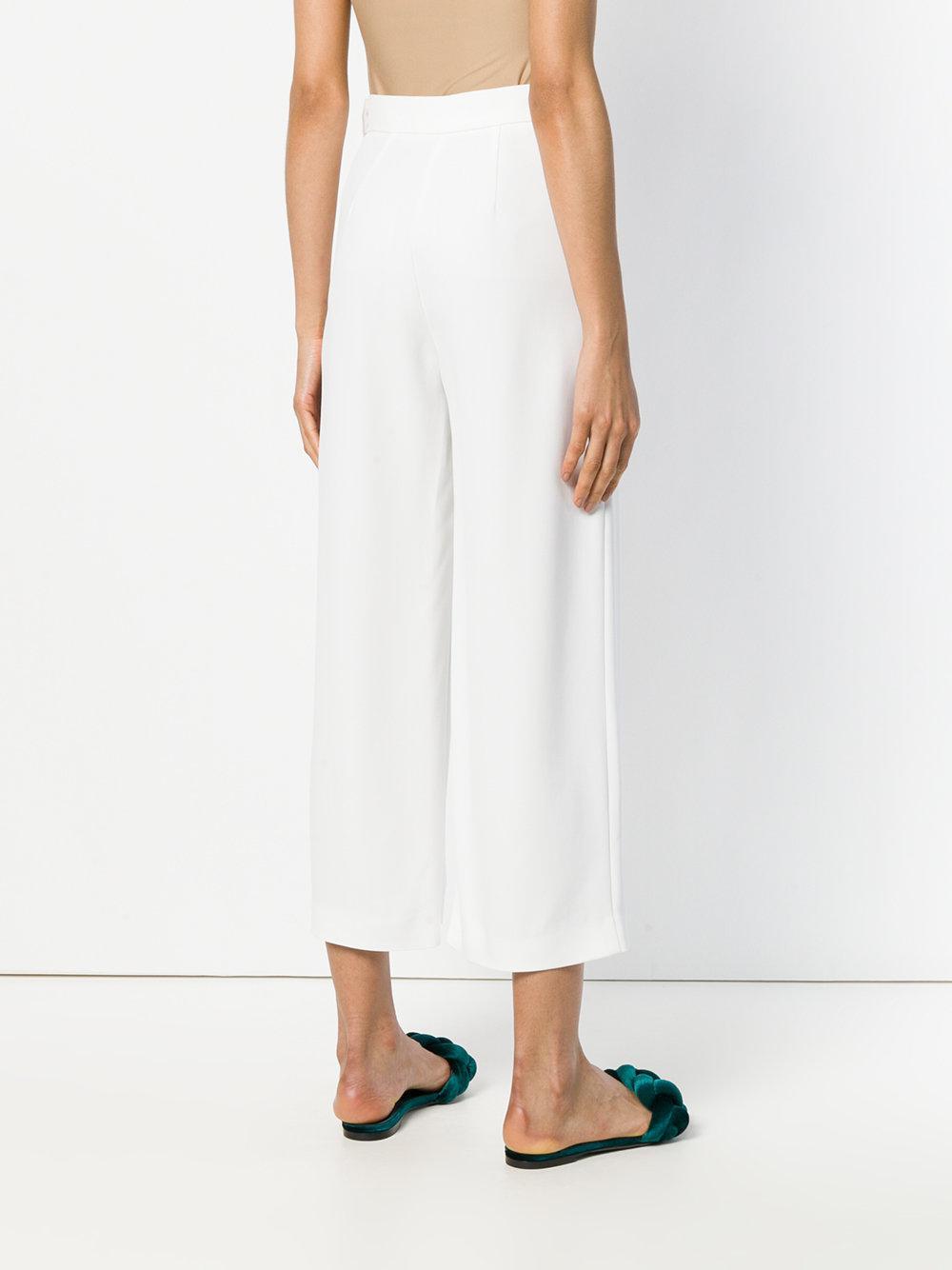 cropped trousers - White Genny Original Low Price hNY6WOxGo