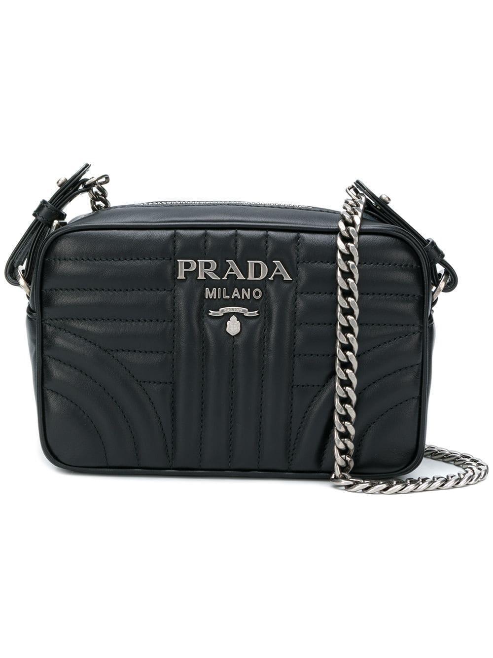 6fed688cfd7a Prada - Black Diagramme Camera Bag - Lyst. View fullscreen