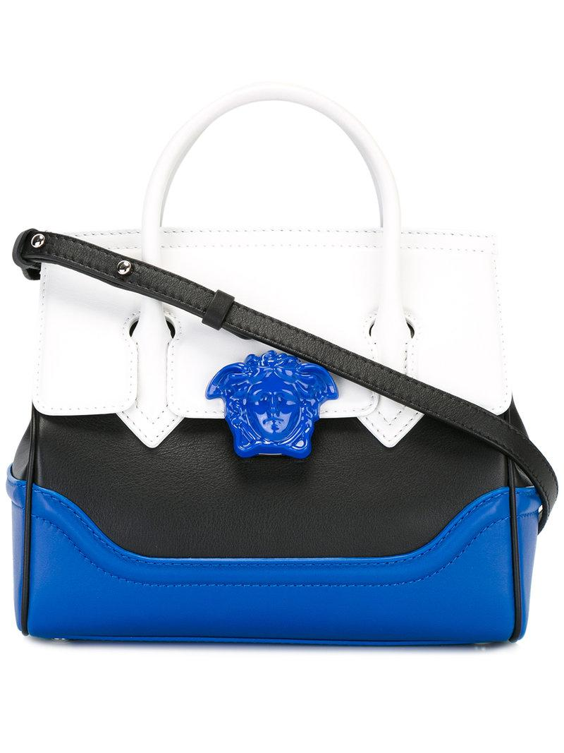 61494888c39e Lyst - Versace Palazzo Empire Shoulder Bag in Blue