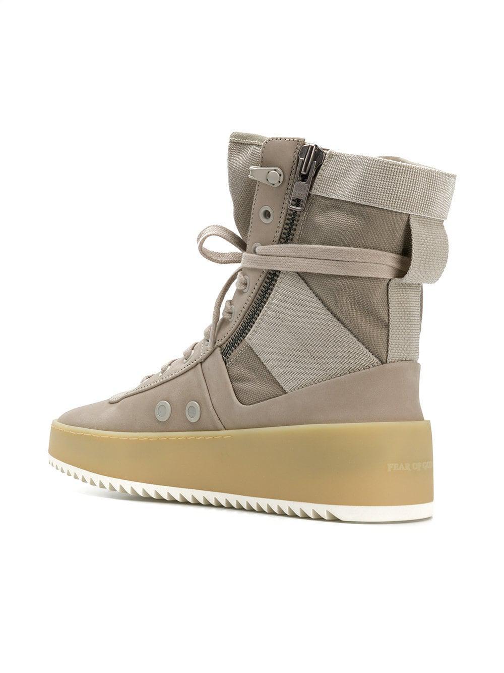 new product d215c 31471 fear-of-god-Neutrals-Zipped-Hi-top-Sneakers.jpeg