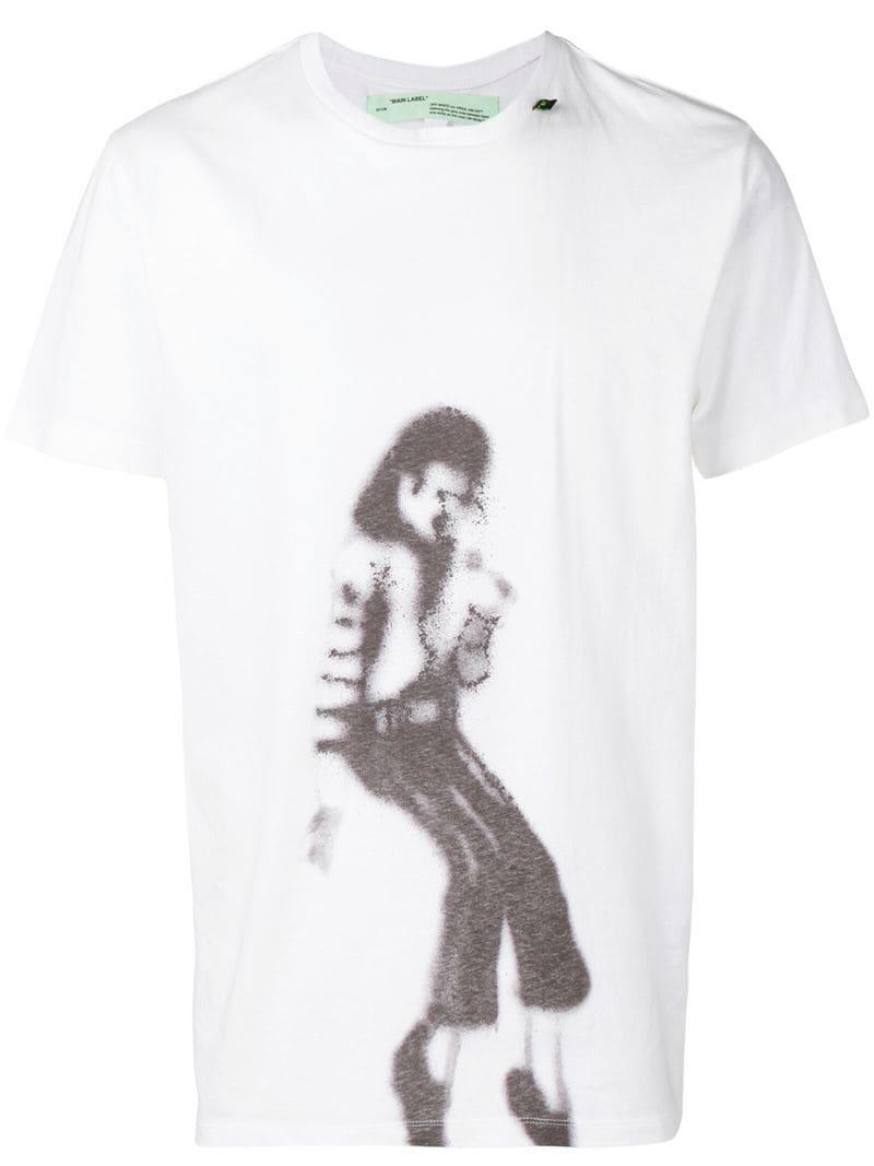 0081c4859dc7 Lyst - Off-White c o Virgil Abloh Mj T-shirt in White for Men